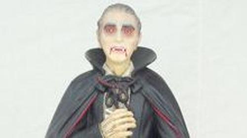 Dracula Figur, Dracula, Vampir, Figur, Halloween, Grusel, Dekoration, Blutsauger, Schaurig, Fledermaus, Event, Messe