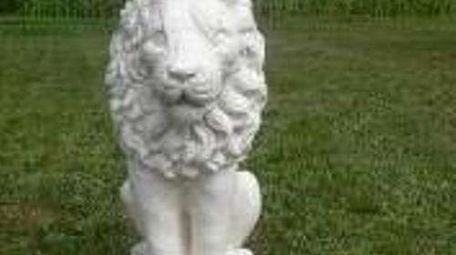 Griechischer Löwe Figur, Figur, Löwe, Katze, Raubkatze, Wildkatze, Großkatze, Griechenland, Griechisch, Antik