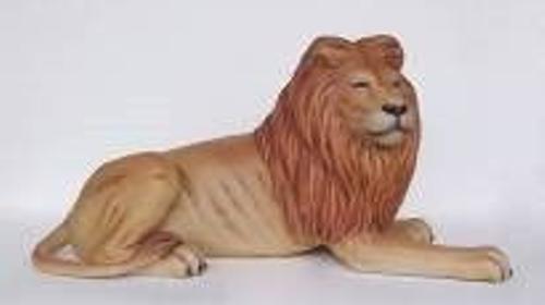 Liegender Löwe Figur, Liegender Löwe, Löwe, Katze, Wildkatze, Großkatze, Wildtier, Tier, Zoo, Zirkus, Savanne