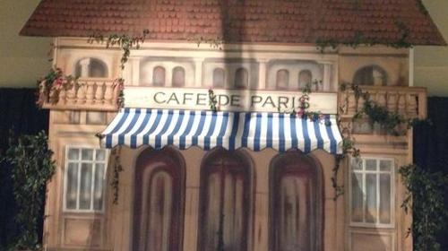 Frankreich Cafe de Paris Kulisse, Frankreich, Cafe, Cafe de Paris, Paris, France, Kulisse, Stadt der Liebe, Kulisse