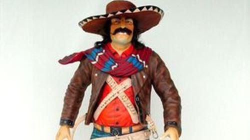 Mexikaner Figur, Mexiko, Mexico, Mexikaner, Figur, Südamerika, Sombrero, Siesta, Fiesta, Dekoration, Event, Messe
