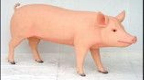 Ferkel Figuren, Schwein, Wutz, Sau, Figur, Ferkel, Bauer, Bauernhof, Stall, Tier, Nutztier, Dekoration, Event, Messe