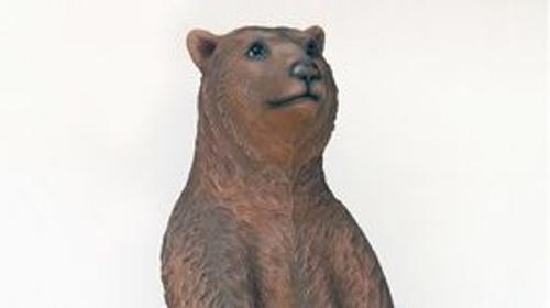 Braunbär Figur, Bär, Figur, Braunbär, Grizzly, Baer, Braunbaer, Grizzlybaer, Grizzlybär, Tier, Wildtier, Dekoration
