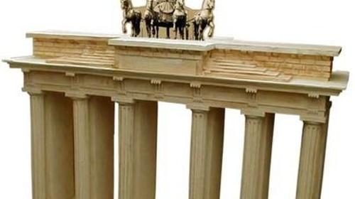 Brandenburger Tor, Berlin, Wahrzeichen, Brandenburg, Dekoration, Tor, Attrappe, Event, Messe, Veranstaltung, leihen