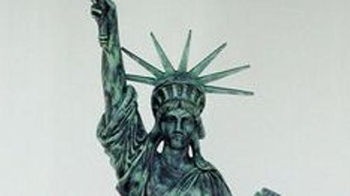 Amerika Liberty Figur, USA, Amerika, Liberty, Freiheitsstatue, Unabhängigkeit, New York, Wahrzeichen, Event, Messe
