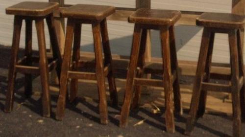 Barhocker Rustikal, Barhocker, Hocker, Rustikal, Holzhocker, Sitz, Event, Messe, Veranstaltung, leihen, mieten