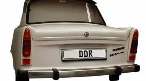 Berlin Trabbi Heck, Trabbi, Trabant, Berlin, Ostdeutschland, Heck, Autoheck, Auto, DDR, Event, Messe, Veranstaltung