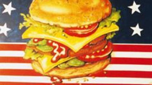 Amerika Burger Kulisse, USA, Burger, Burgerkulisse, Amerika, USA Kulisse, Essen, Restaurant, Event, Messe