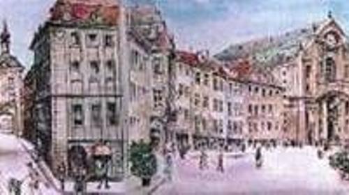 Bamberg Kulisse, Kulisse, Stadtkulisse, Straße, Stadt, Bamberg, Straßenkulisse, Event, Messe, Veranstaltung, leihen