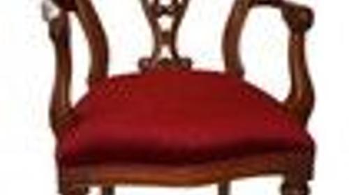 Barock Stuhl, Stuhl, Barock, Sitz, Samtstuhl, Samt, Purpurrot, Rot, Original, Event, Messe, Veranstaltung, leihen