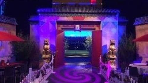 China Eingangstor, Eingangstor, China, Japan, Asia, Asien, asiatisch, Tor, chinesische Mauer, Event, Messe