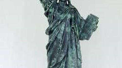 Amerika Freiheitsstatue Halbbüste, Amerika, USA, New York, Wahrzeichen, Liberty, Freiheitsstatue, Unabhängigkeit, Event