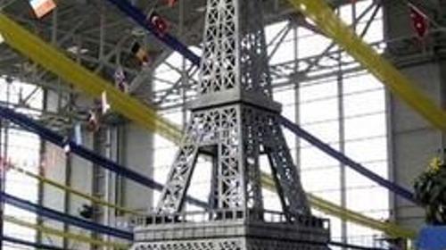 Eiffelturm XXL, Eiffelturm, Paris, Frankreich, Stadt der Liebe, France, Dekoration, Event, Messe, Veranstaltung, leihen