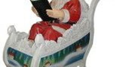 Weihnachtsmann Figur