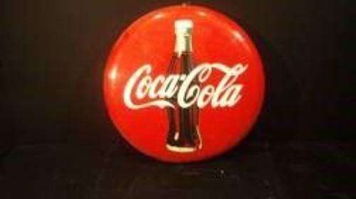 Coca Cola Werbeschild, Werbeschild, Coca Cola, Coke, Werbung, Reklame, Dekoration, Event, Messe, Veranstaltung, leihen