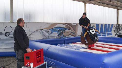 Bullriding / Rodeo Bulle