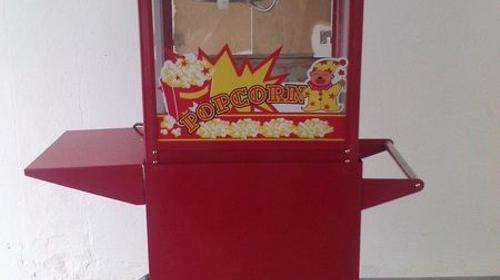 Popcornmaschine mit 200 Portionen