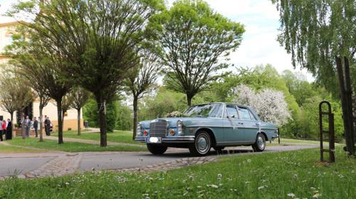 Hochzeitsauto, Oldtimer Mercedes S-Klasse