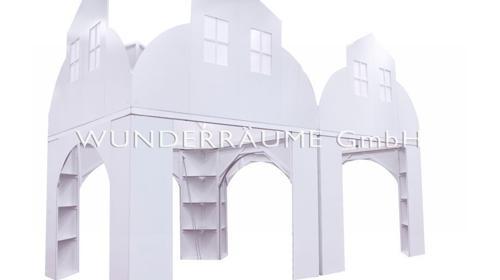 Doppelhaus - WUNDERRÄUME GMBH vermietet: Dekoration/Kulisse für Event, Messe, Veranstaltung, Incentive, Mitarbeiterfest, Firmenjubiläum