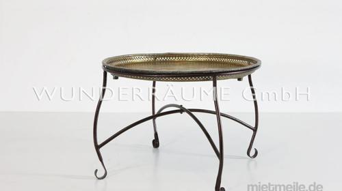 Tisch Silber Orient 2 - WUNDERRÄUME GmbH vermietet:Dekoration/Kulisse für Event, Messe, Veranstaltung, Incentive, Mitarbeiterfest, Firmenjubiläum