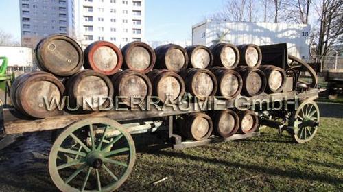 Nostalgischer Bierwagen - Holzwagen WUNDERRÄUME GMBH vermietet: Dekoration/Kulisse für Event, Messe, Veranstaltung, Incentive, Mitarbeiterfest, Firmenjubiläum