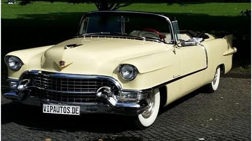 Cadillac Eldorado Flossen-Cabriolet , Oldtimer Bj. 1955, ideal als Hochzeitsfahrzeug-