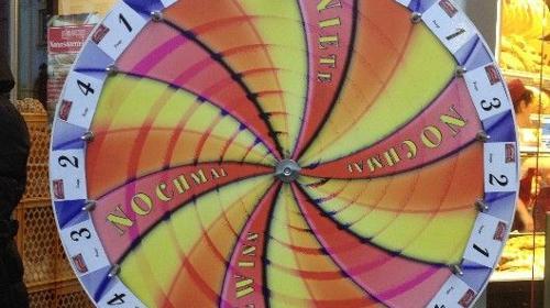 "Glücksrad, Modell ""Spirale"" inkl. 19% MwSt."