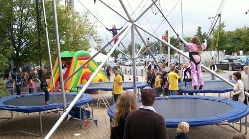 Bungee Trampolin / Qudrojumper / High Jumper