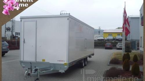 Duschcontainer mieten Anlieferung deutschlandweit
