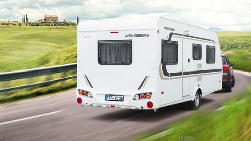 Weinsberg CaraOne 550 QDK 3er Etagenbett