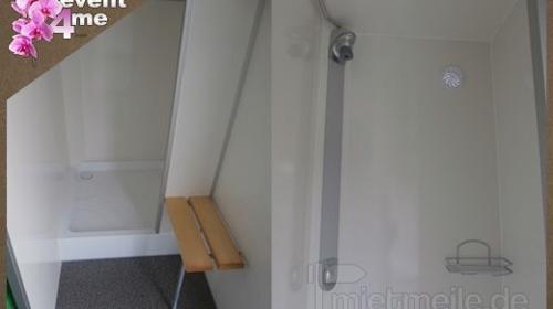 Mobile Duschen mieten Anlieferung deutschlandweit