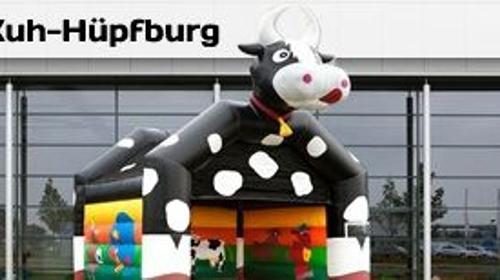 Hüpfburg- Kuh - Kuhhüpfburg