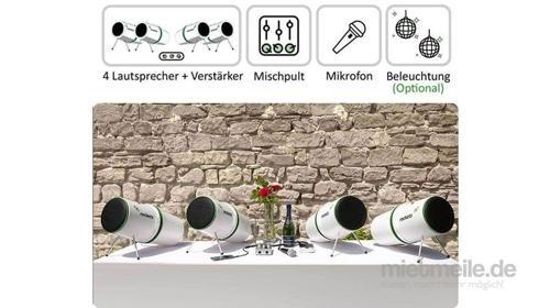 EVENT & HOCHZEIT PAKET DELUXE - Mischpult, Mikro inkl. Lieferservice