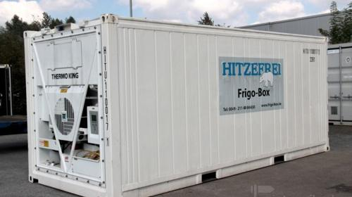 20' Kühlcontainer Frigo-Box