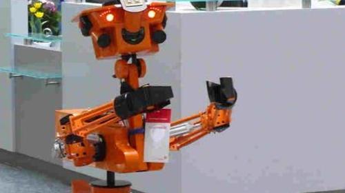 Roboter, Robot, Walk Act, Animation