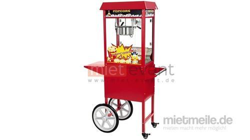 Popcornmaschine mit Unterwagen mieten