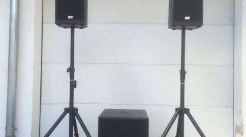 Musikanlage / PA für Partys Party / Hochzeit