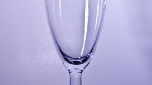Sektglas klein