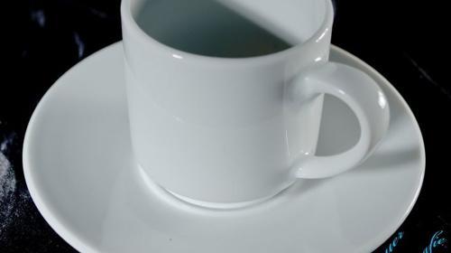 Espressotasse mit Unterteller