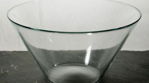 Salatschüssel Glas