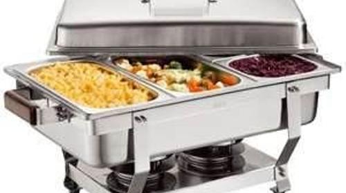 Chafing Dish mit Einsatz nach Wahl