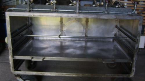 Spanferkelgrill Gas