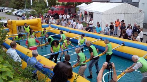 Lebendkicker ~ XXL Kicker ~ Menschenkicker ~ Human Table Soccer
