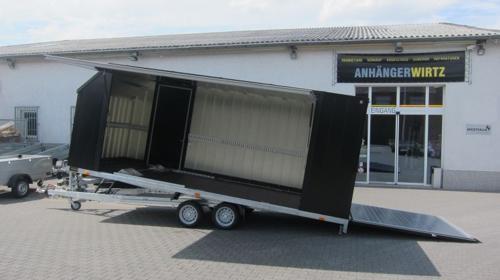 Geschlossener KFZ Transportanhänger