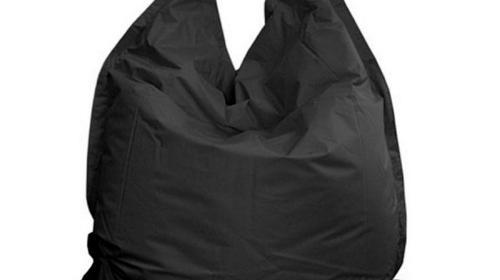 Sitzsack in schwarz