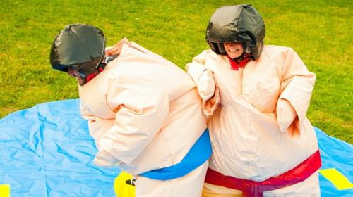 Sumo Ringen Wrestling Party Hit mieten
