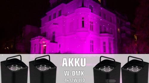 Bocatec Akku LED Spot mieten