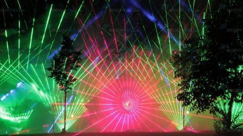 Lasershows/Multimedia-Shows mieten