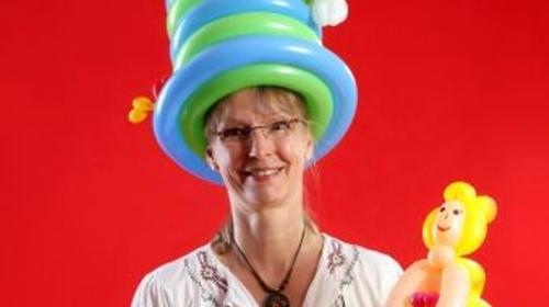 Ballonkünstlerin und Kinderzauberin in Buxtehude und Umgebung
