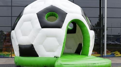 Hüpfburg Fußball mieten bei TOBA Sport + Events